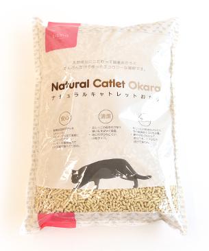 おからの猫砂『Natural Catlet Okara(ナチュラルキャトレット おから)』